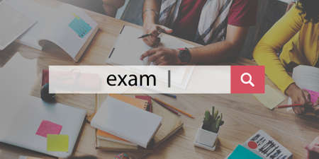 leading education: Exam Coaching Authority Management Leader Concept