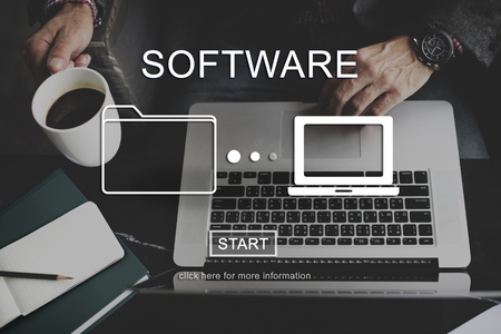 sata: Software Sata Networking Digital Connection Concept