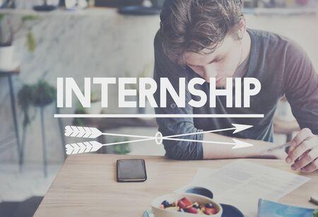 Internship Training Skills Job Experience Concept
