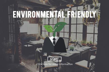 environmental friendly: Environmental Friendly Business Suit Concept Stock Photo