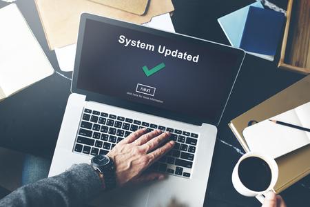 Sistema Aggiornato il concetto di dati di connessione al computer