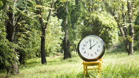 aim: Clock Day 2PM Minute Nature Inspiration Time Concept