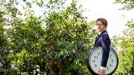 career timing: Time Timing Management Schedule Organisation Concept Stock Photo