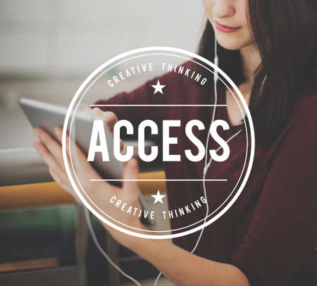 availability: Access Availability Permission Authority Accessible Concept Stock Photo