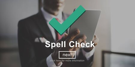 accuracy: Spell Check Right Correctly Accuracy Concept