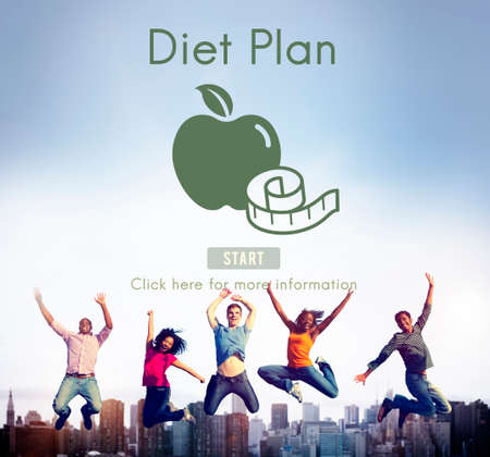 diet plan: DIet Plan Healthy Nutrition Eating Food Choice Concept