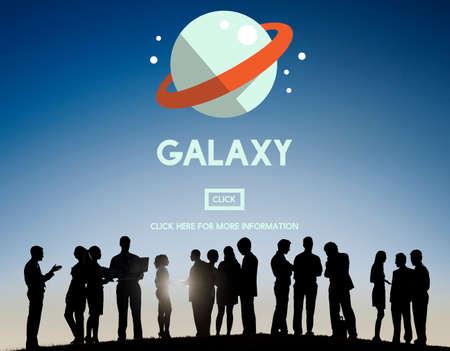 gravedad: Galaxy Astrología Concepto gravedad del planeta