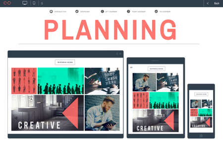 tactics: Plan Planning Solution Strategy Tactics Operation Concept Stock Photo