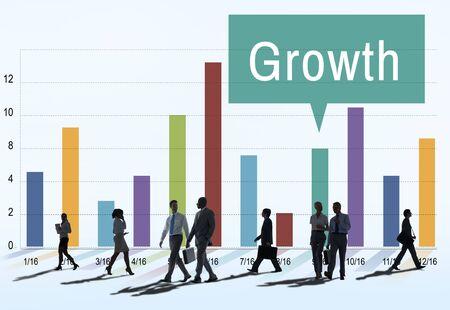 rush hour: Growth Progress Development Icon Concept