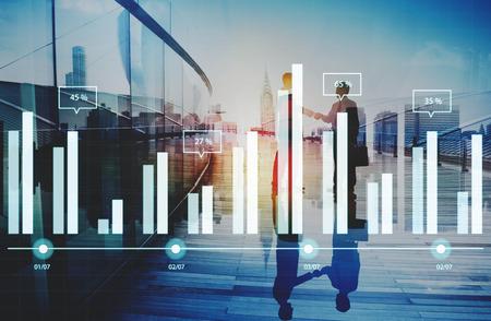 information analysis: Analytics Report Status Information Analysis Chart Graph Concept