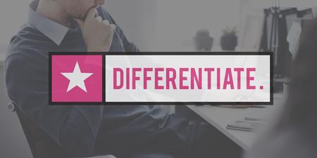 identify: Differentiate Distinguish Identify Recognize Concept