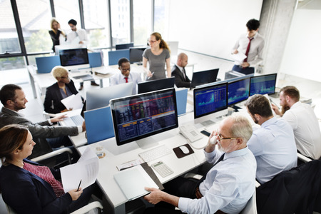 cocnept: Business Team Finance Stock Exchange Busy Cocnept