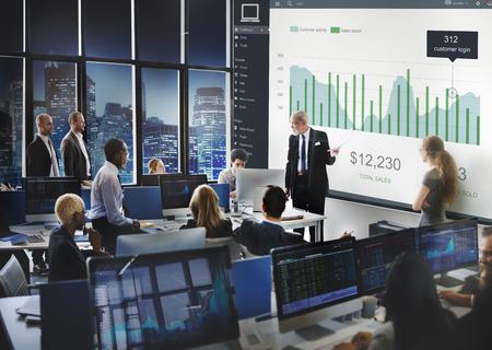 Client Sales Marketing Dashboard Graphics Concept