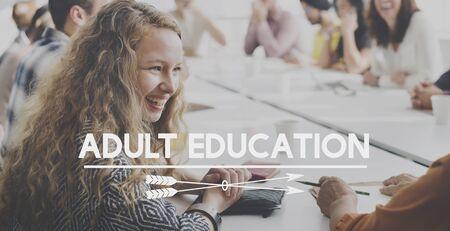 Erwachsenenbildung Lernen Studieren Konzept
