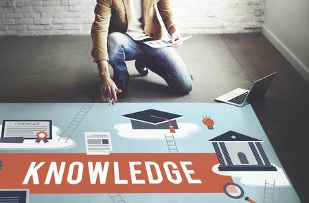 勉強の概念を学習知識大学洞察力 写真素材