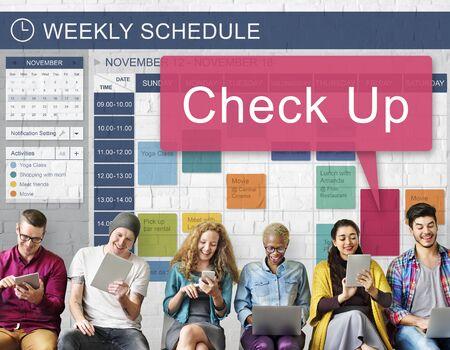 check up: Check Up Clinic Diagnosis Health Illness Monitor Concept