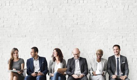 Ressources humaines Interview Recruitment Concept d'emploi Banque d'images