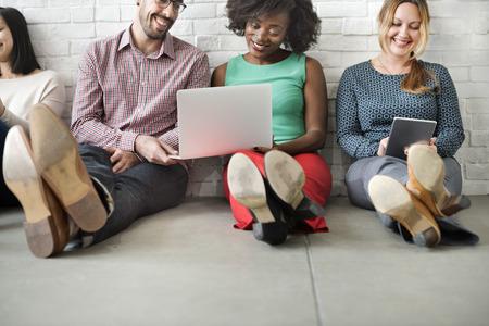 diversidad: Diversidad Amigos de conexión Comunicación Global Concept