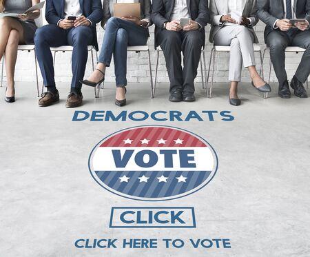 democrats: Democracy Democrats Human Rights Liberty Freedom Concept Stock Photo