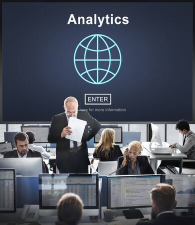 reseach: Analytics Analyze Data Analysis Informaion Research Concept