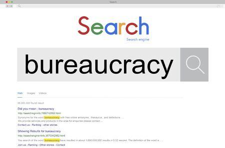 bureaucracy: Bureaucracy Organization Government Decision System Concept