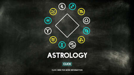 fortune telling: Astrology Astronomy Horoscope Fortune Telling Zodiac Concept