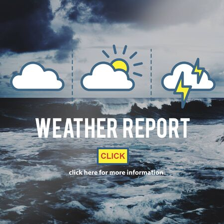 weather report: Weather Report Information Prediction Climate Daily Concept