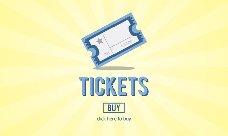 entertainment concept: Tickets Buying Payment Event Entertainment Concept