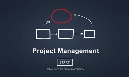 proceed: Project Management Corporate Methods Business Planning Concept