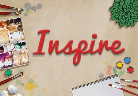 imagination: Inspire Inspiration Creative Motivate Imagination Concept