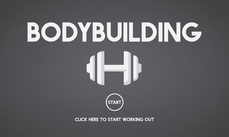 get a workout: Bodybuilding Health Get Fit Fitness Exercise Body Pump Concept