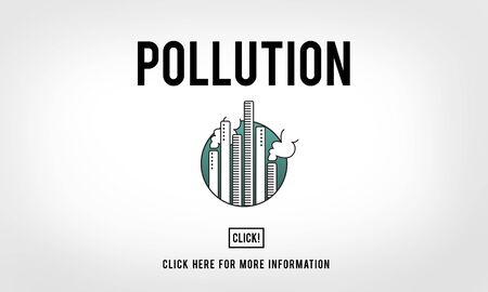 smog: Pollution Emission Fog Hazard Mist Pollute Smog Concept Stock Photo