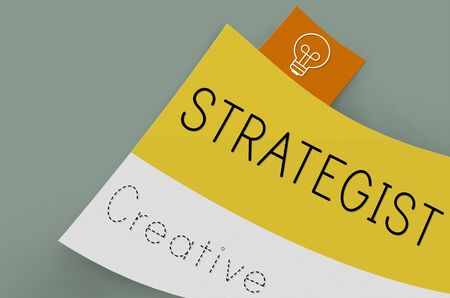 strategist: Strategize Strategist Strategic Tactics Vision Concept