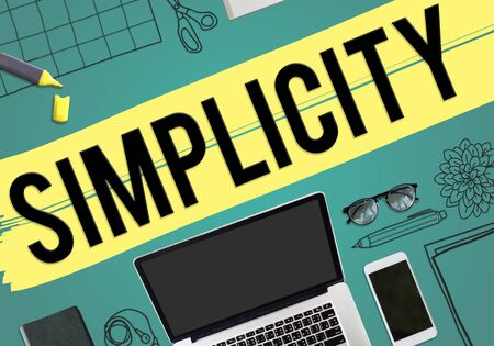 the simplicity: Simplicity Minimal Simple Effortleness Modern Concept
