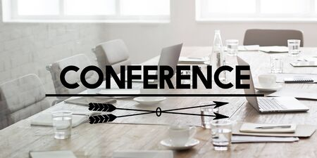 confer: Conference Meeting Seminar Corporate Business Concept