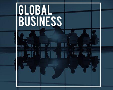globalization: Global Business Globalization Trading Worldwide Concept