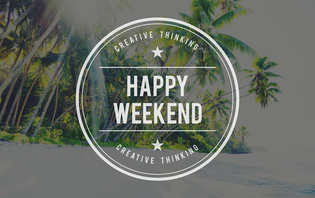 free time: Happy Weekend Vacation Free Time Relax Concept