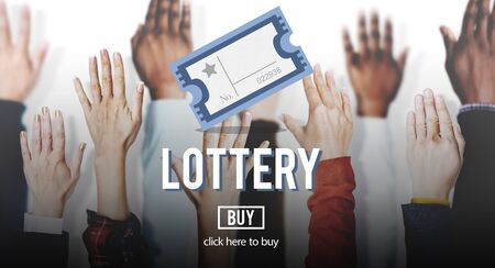 payoff: Lottery Betting Luck Money Payoff Prize Scratch Concept