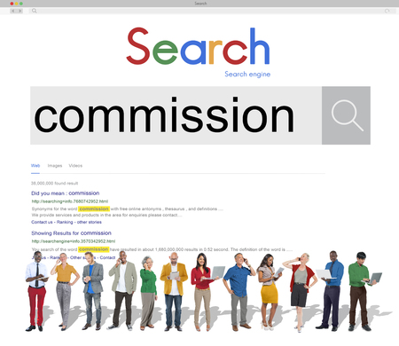 commission: Commission Compensation Finance Gain Earning Concept