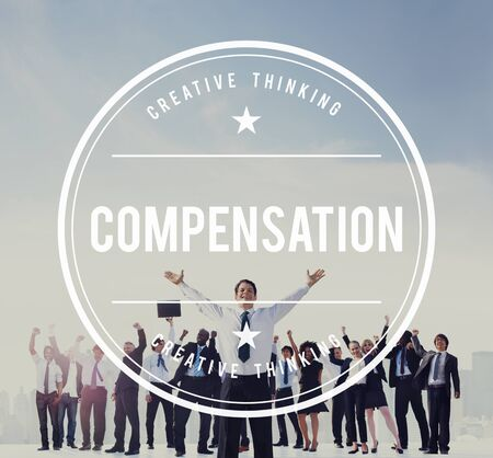 compensated: Compensation Finance Incentive Payment Gain Concept