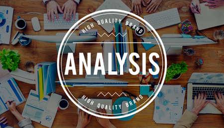 scrutinise: Analysis Analytics Information Data Study Concept Stock Photo