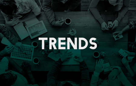 business trending: Trends Trend Trending Trendy Fashion Style Design Concept Stock Photo