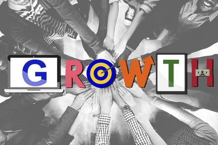 buildup: Growth Progress Success Achievement Concept