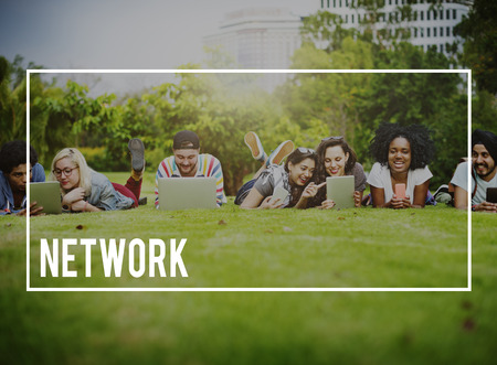 diversity domain: Network Networking Connection Computer Concept