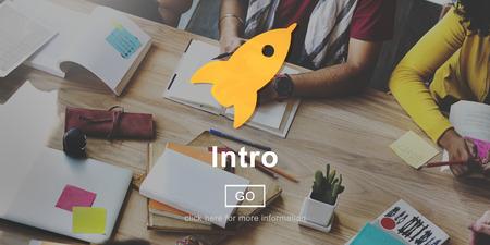 empezar: Introducci�n Lanzamiento de inicio Begin Concept