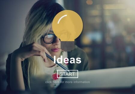 creativity: Ideas Innovation Creativity Thoughts Concept
