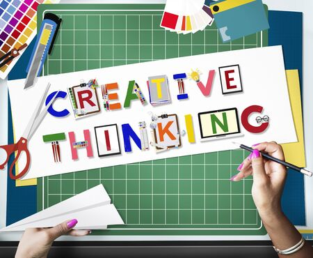 Creative Thinking Ideas Innovation Creativity Concept Stok Fotoğraf - 55776090