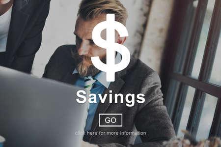 account executive: Savings Money Financial Accounting Banking Concept Stock Photo
