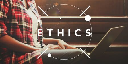morals: Ethics Morals Integrity Values Concept