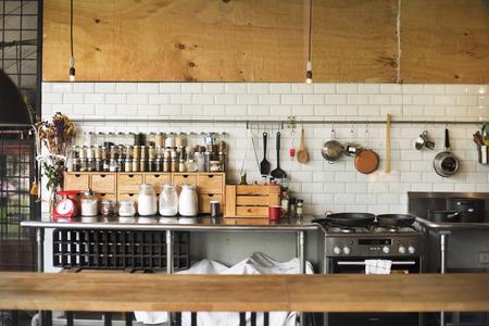 クッキング スパイス概念現代台所用品